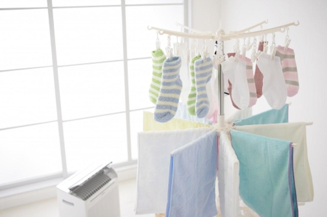 広い洗濯物干し場が欲しい
