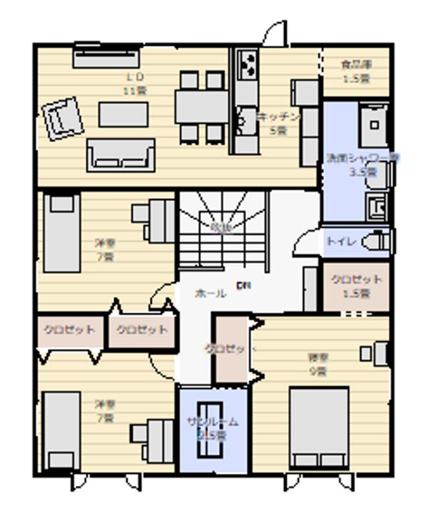 平面図3F